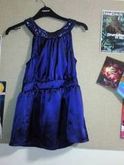 Topshop purple silk top SIZE 8