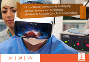Virtual Reality and 3D Medical Animation Is  Medical  Industry