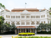Take a bus to Orchard Road from Raffles Hotel