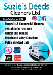 Suzie's Deeds Cleaners Ltd